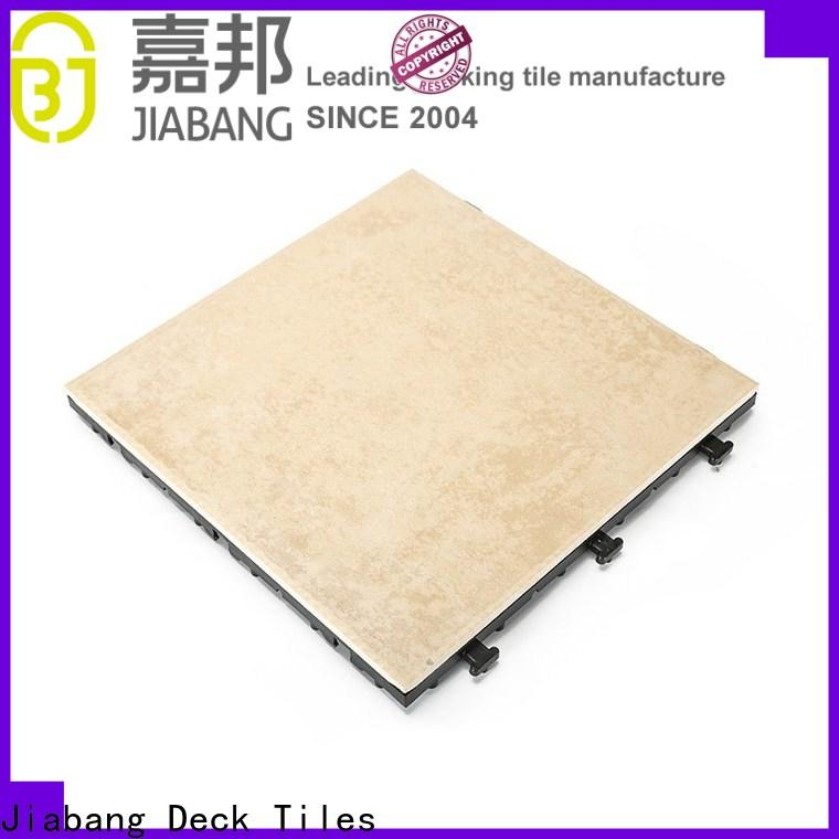 durable outdoor flooring company top quality balcony decoration