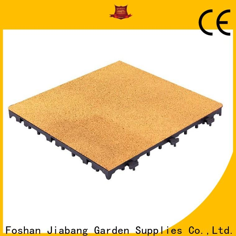 JIABANG custom rubber playground tiles cheapest factory price for wholesale