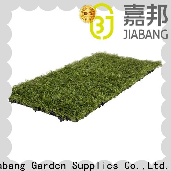 JIABANG high-quality green grass carpet tiles at discount path building