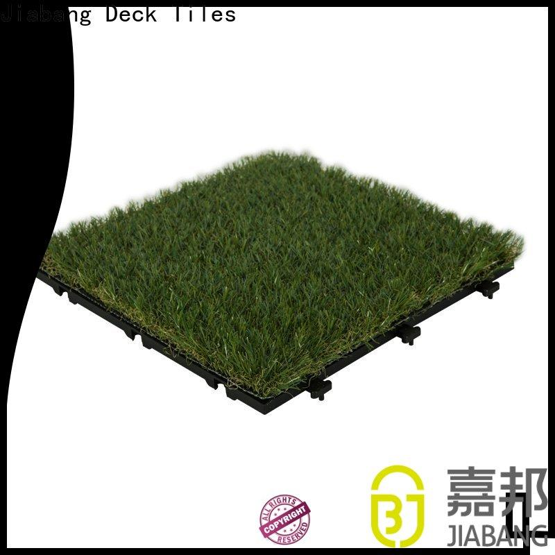 JIABANG professional outdoor grass tiles at discount balcony construction