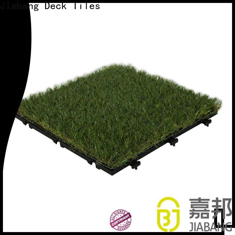 JIABANG professional outdoor grass tiles at discount balcony construction
