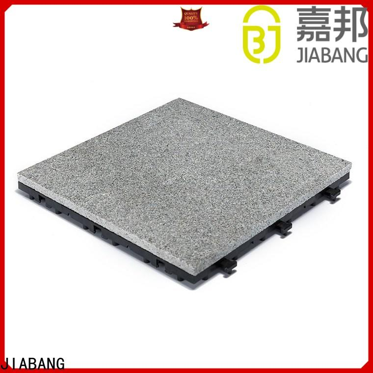 JIABANG latest granite deck tiles factory price for porch construction