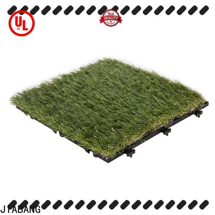 JIABANG artificial grass squares easy installation for garden