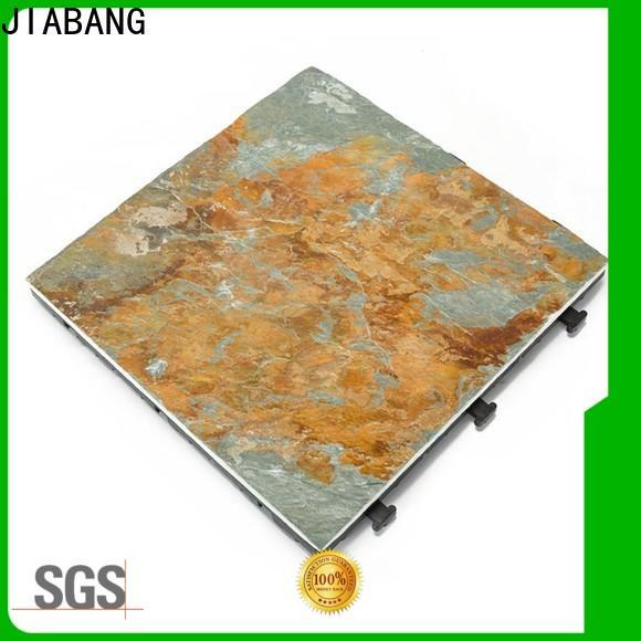 JIABANG outdoor slate deck tiles floor decoration swimming pool