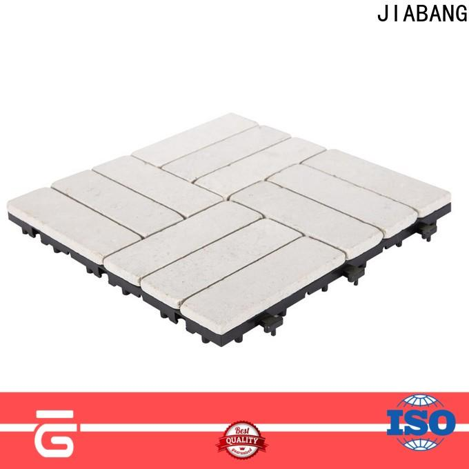 JIABANG interlocking travertine pool tiles at discount for garden decoration