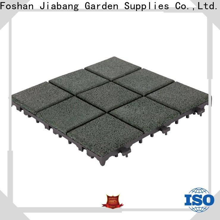 JIABANG composite rubber gym flooring tiles cheap house decoration