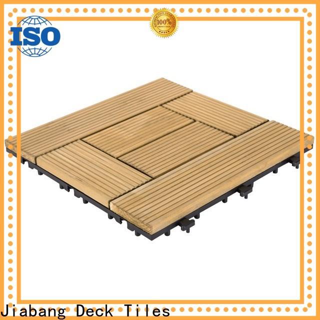 interlocking modular wood decking diy wood flooringwood for garden