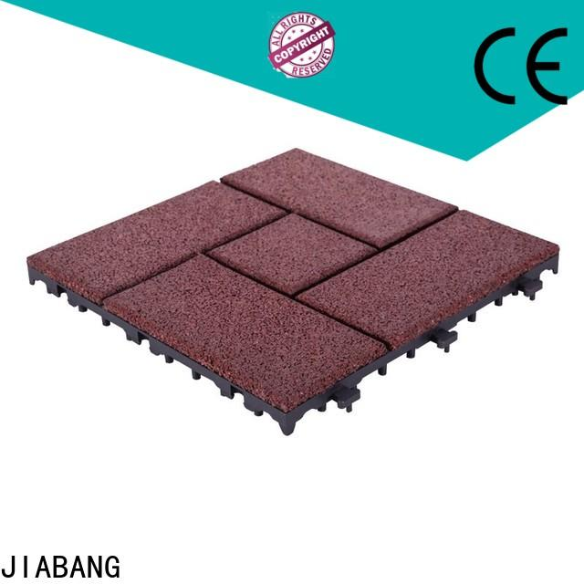 highly-rated rubber mat tiles playground light weight house decoration