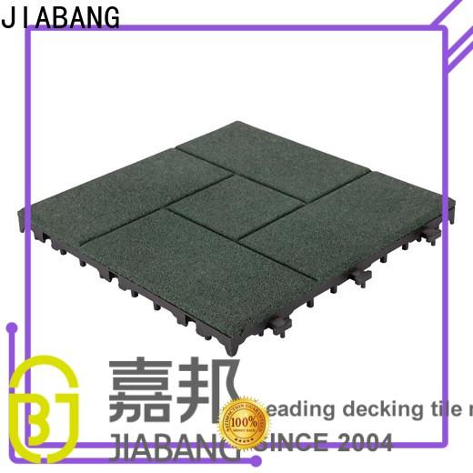 professional rubber mat tiles playground cheap for wholesale