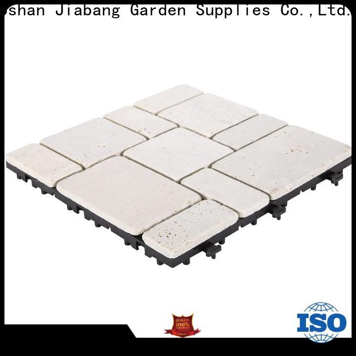 JIABANG diy travertine deck tiles high-quality for playground