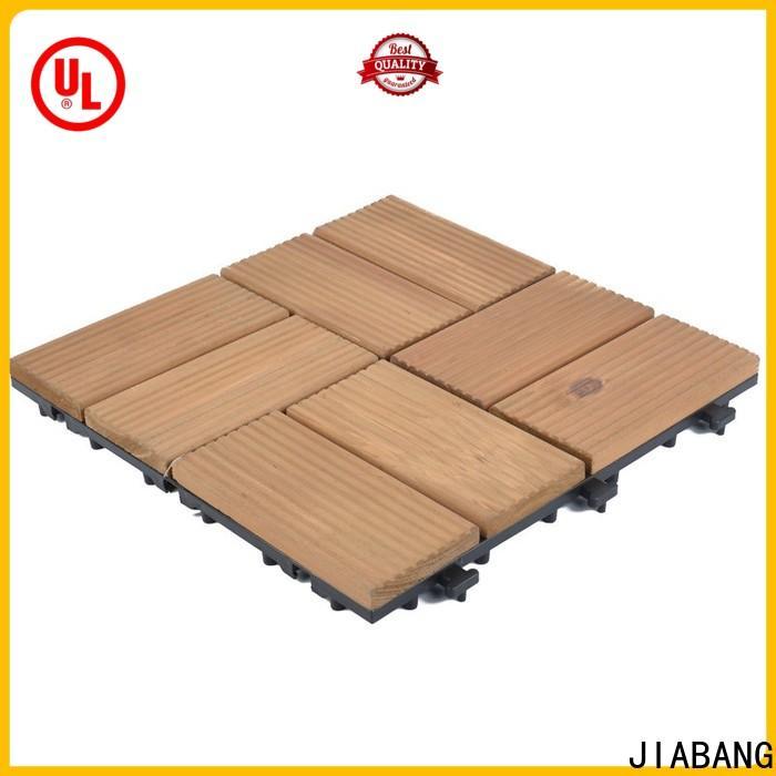 JIABANG outdoor garden wooden decking floor chic design for balcony