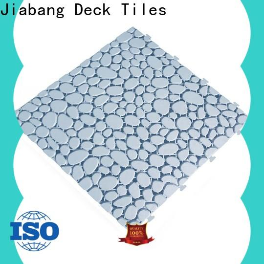 JIABANG anti-sliding plastic floor tiles kitchen flooring