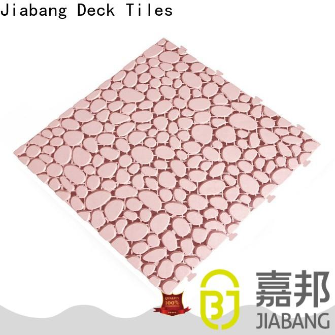 JIABANG plastic mat plastic wood tiles top-selling for customization