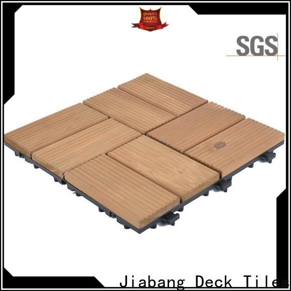 JIABANG durable wood deck tiles garden at discount
