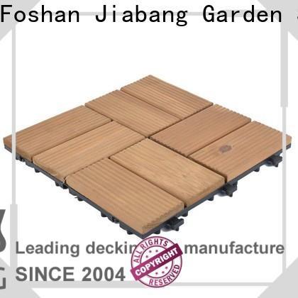 adjustable interlocking wood deck tiles outdoor long size wooden floor