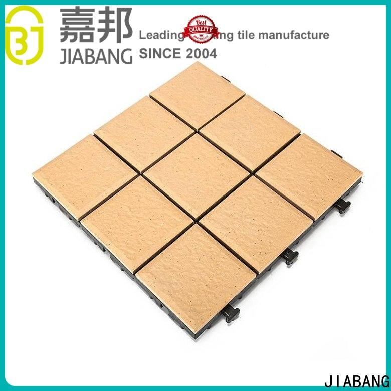 JIABANG hot-sale interlocking tiles manufacturers cheapest factory price for patio
