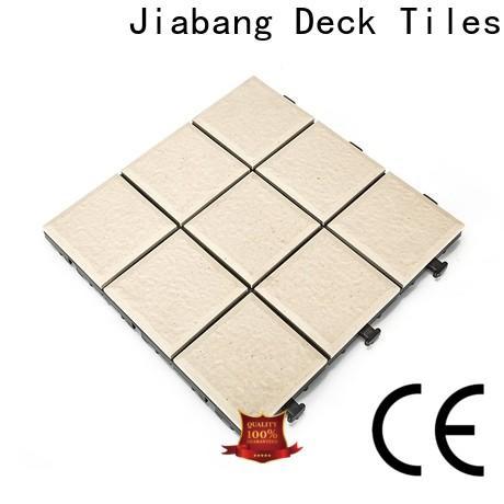 JIABANG wholesale interlocking tiles manufacturing process at discount for garden