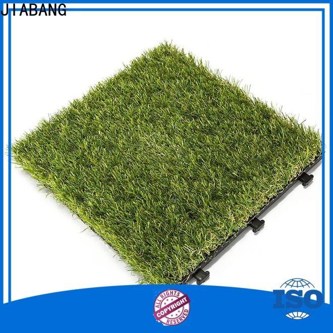 JIABANG hot-sale interlocking deck tiles on grass on-sale garden decoration