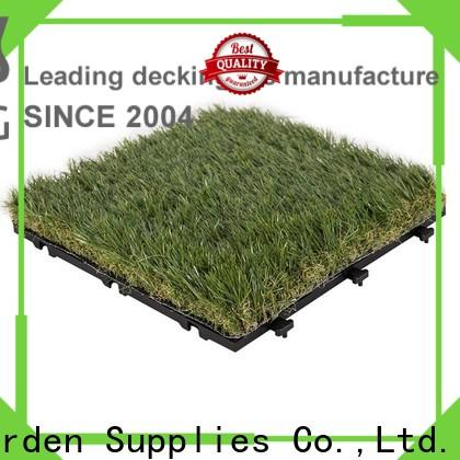JIABANG artificial grass turf tile easy installation for wholesale