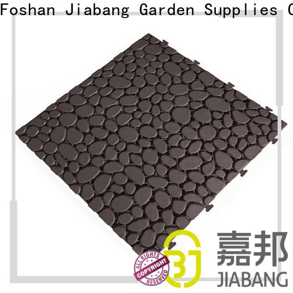 JIABANG plastic snap together patio tiles for customization