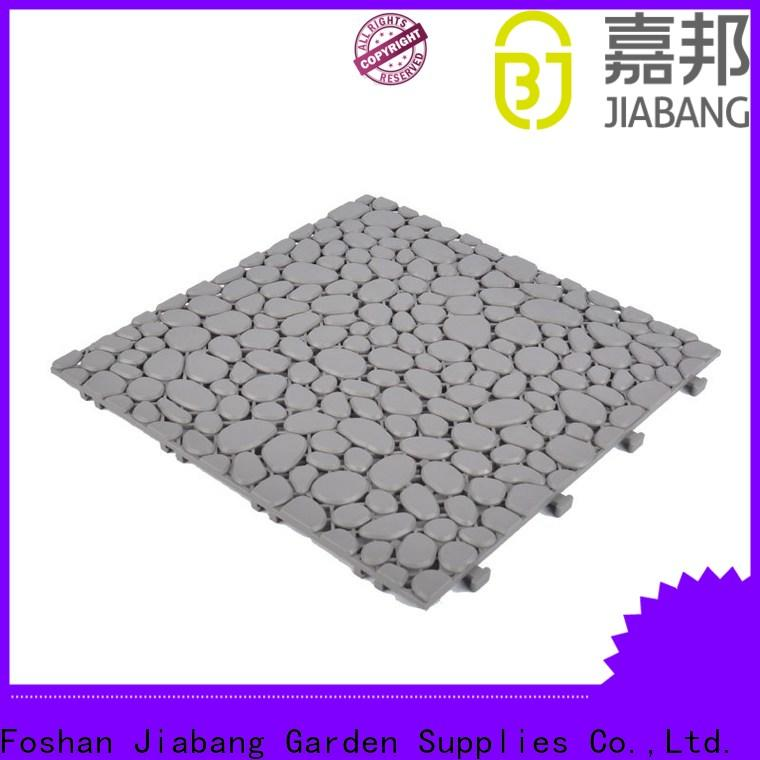 JIABANG anti-sliding outdoor plastic tiles for wholesale