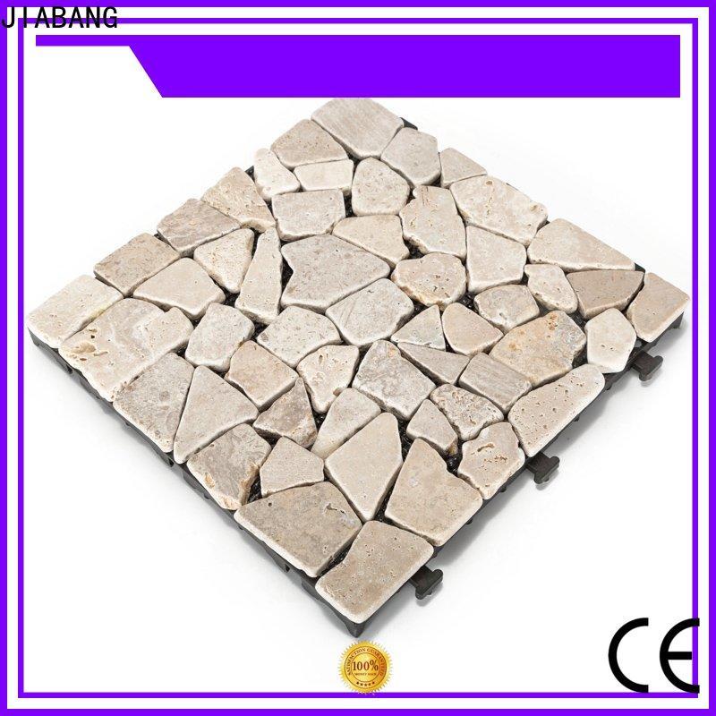 JIABANG outdoor exterior travertine tile high-quality for garden decoration