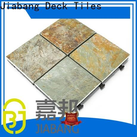 JIABANG interlocking slate tiles basement decoration floors building