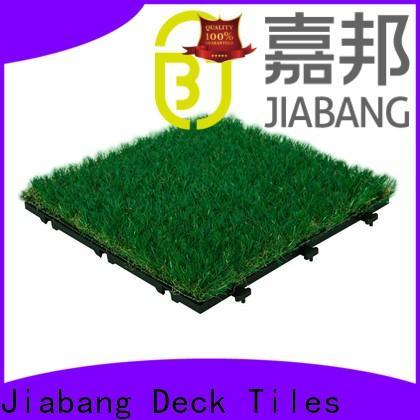 JIABANG top-selling fake grass tiles at discount path building