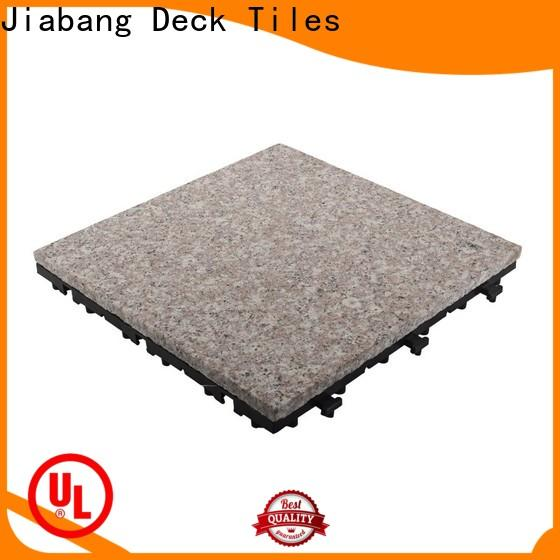 interlocking granite deck tiles low-cost factory price for porch construction