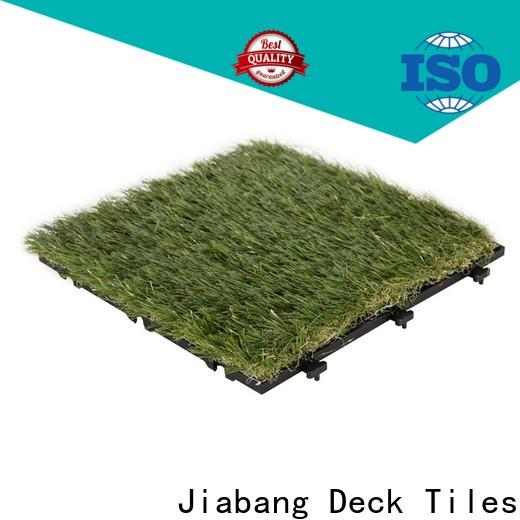 artificial turf deck tiles on grass anti-bacterial easy installation for garden