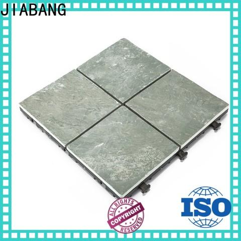 JIABANG waterproofing outdoor stone deck tiles floor decoration for patio