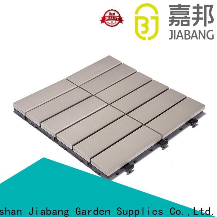 JIABANG durable plastic interlocking patio tiles anti-siding garden path