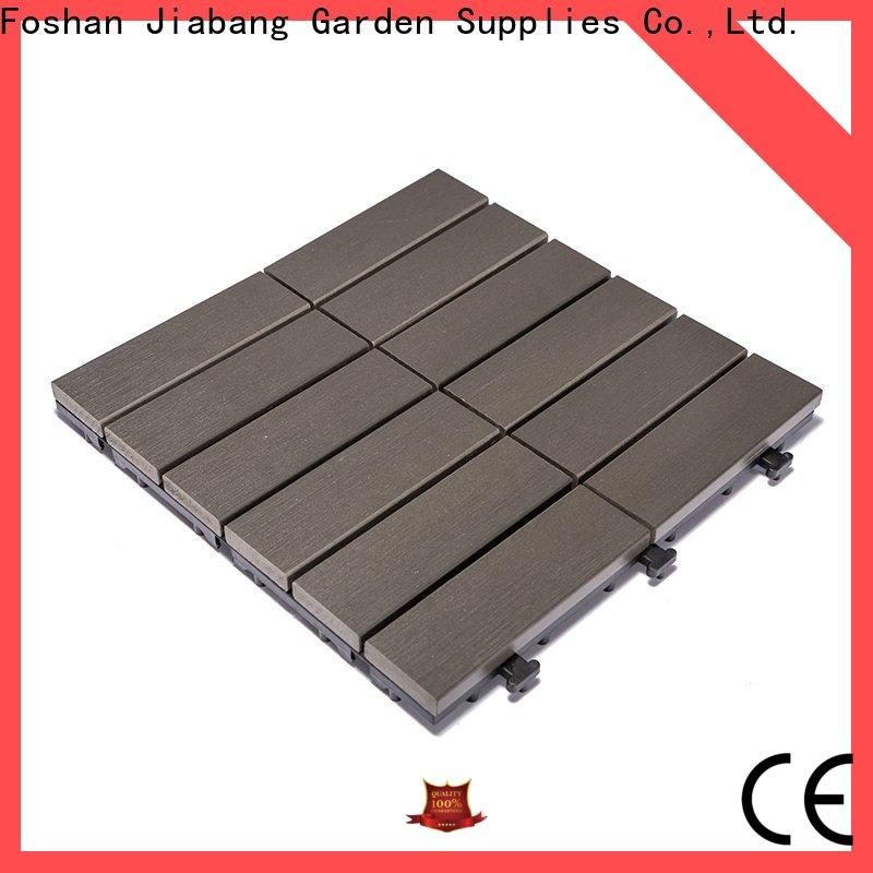 high-end plastic tiles for outside pvc high-quality garden path