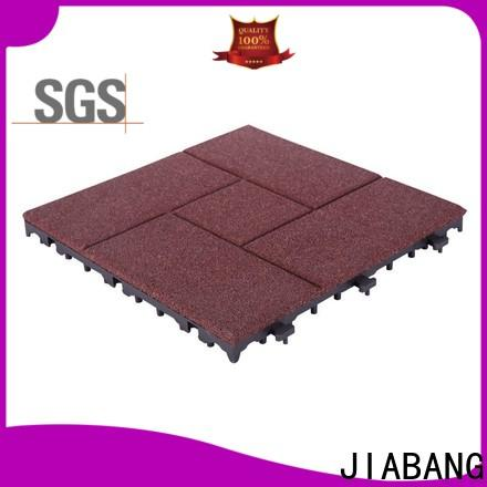 JIABANG flooring interlocking rubber tiles for gym low-cost at discount