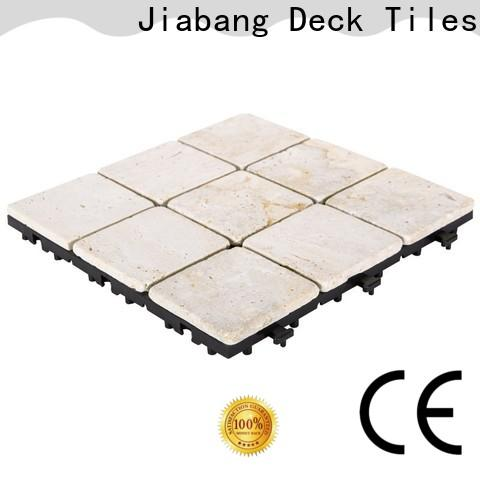 JIABANG diy travertine wall tiles at discount for playground