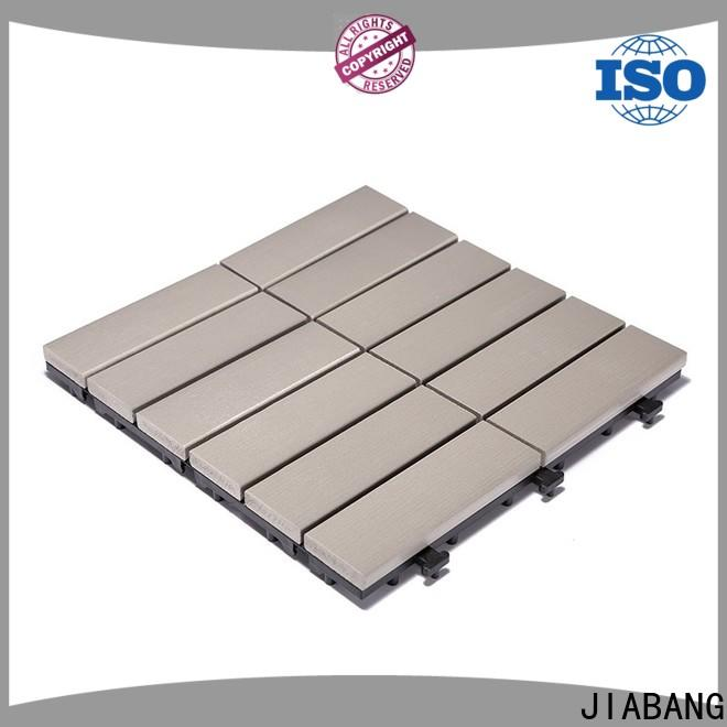 JIABANG light-weight plastic patio tiles popular home decoration