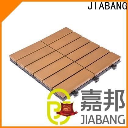 JIABANG hot-sale plastic patio tiles popular home decoration