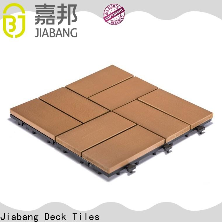 JIABANG high-end pvc deck tiles popular gazebo decoration