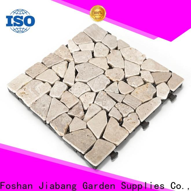 JIABANG diy tumbled travertine floor tiles high-quality for garden decoration