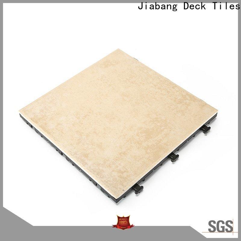 JIABANG anti-sliding non slip decking tiles top seller balcony decoration