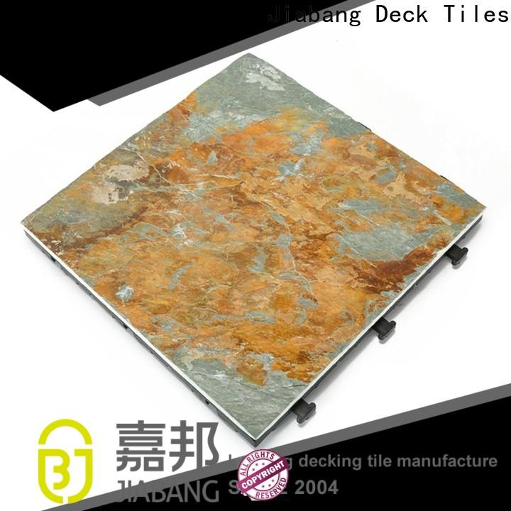 JIABANG dark gray slate floor tile basement decoration floors building
