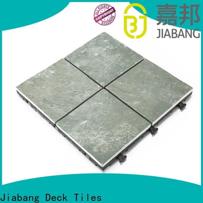 JIABANG deck interlocking slate patio tiles floor decoration floors building