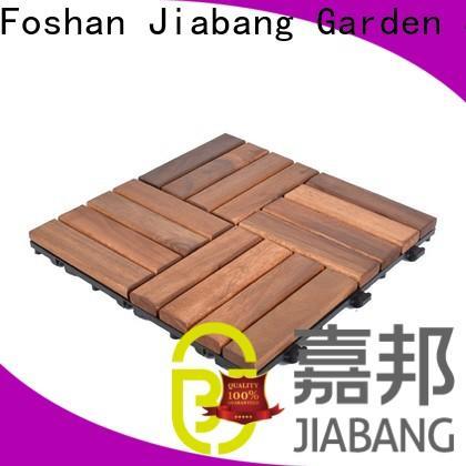 JIABANG durable acacia deck tile low-cost at discount