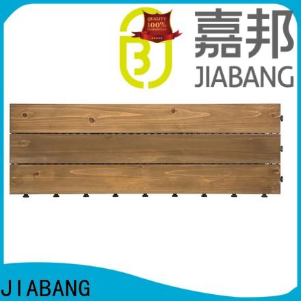 JIABANG refinishing interlocking wood decking wood deck wooden floor