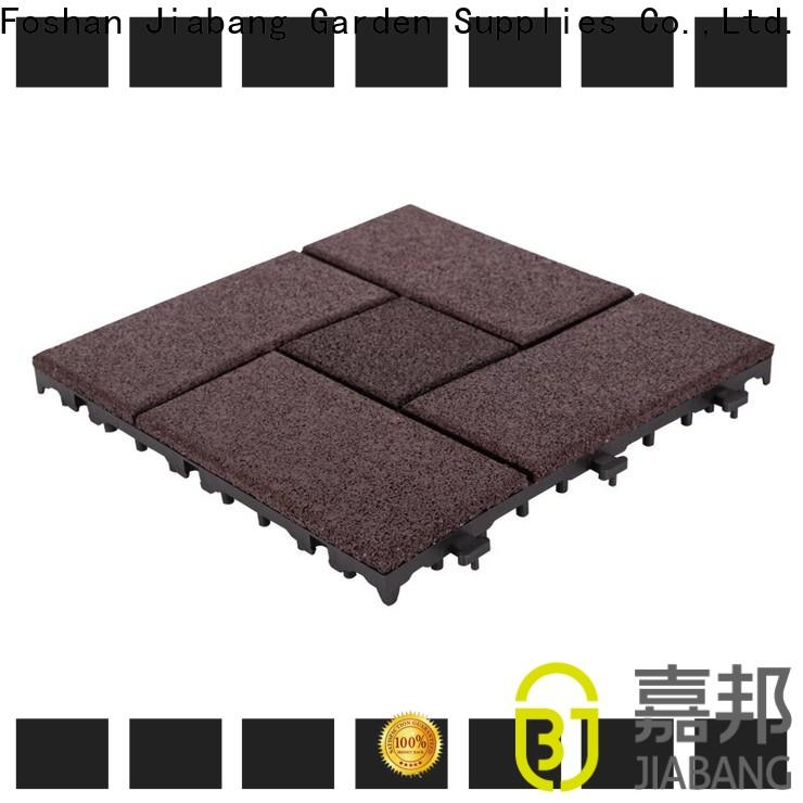 JIABANG professional interlocking rubber mats low-cost house decoration