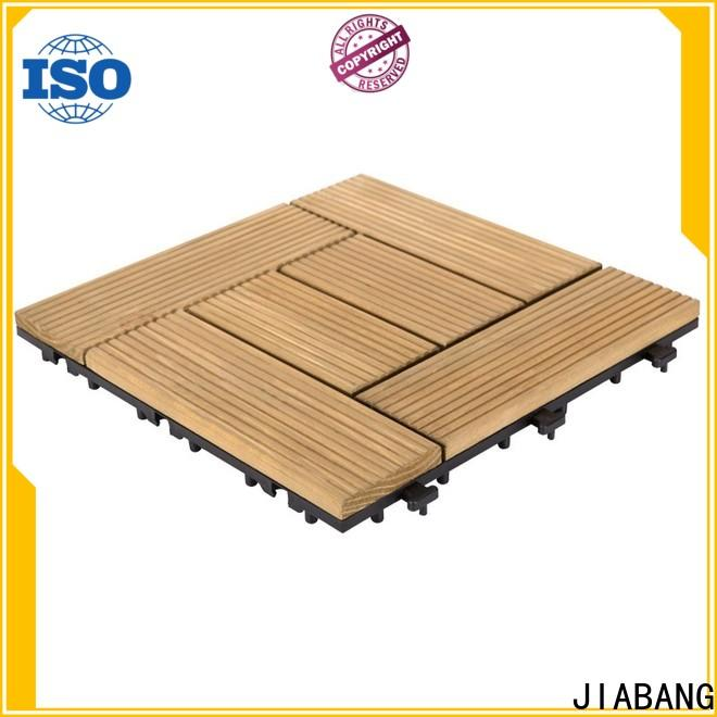 interlocking square wooden decking tiles outdoor flooring wood wooden floor
