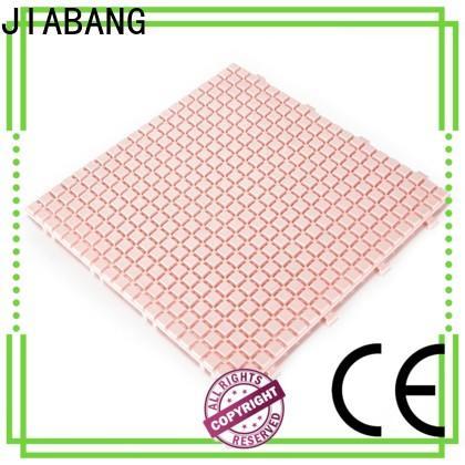 JIABANG decorative plastic patio flooring tile non-slip kitchen flooring