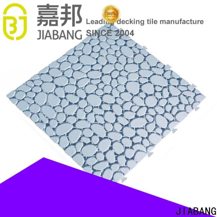 plastic garden tiles anti-sliding high-quality for wholesale
