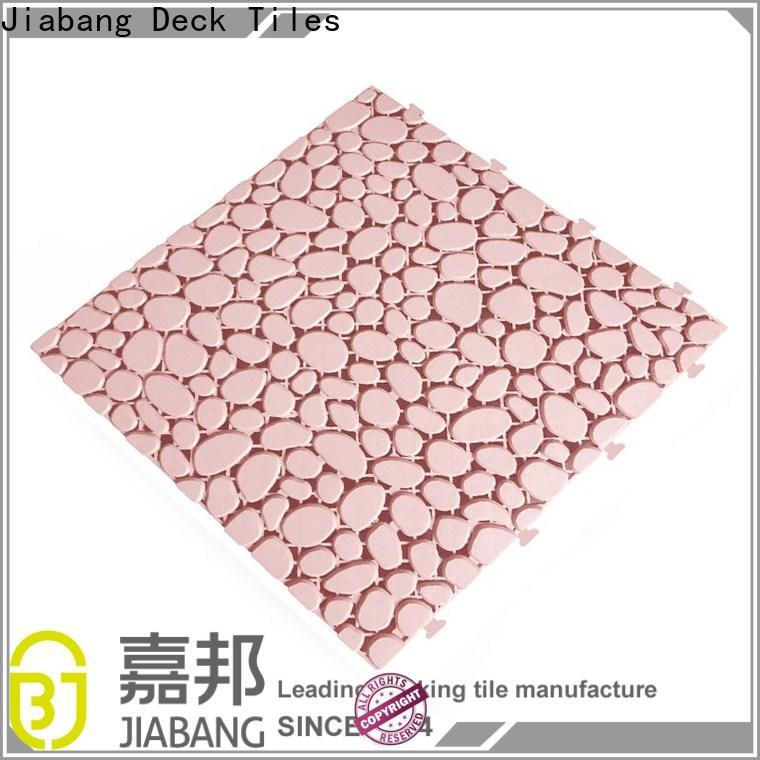 JIABANG decorative plastic floor tiles outdoor top-selling