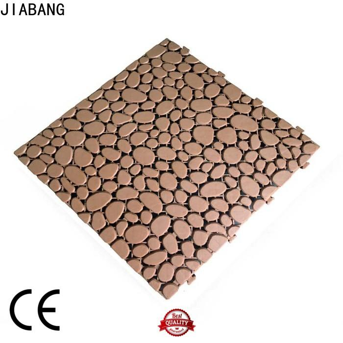 JIABANG anti-sliding outdoor plastic deck tiles top-selling